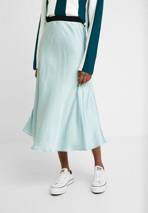 SKIRT - A-line skirt - aqua blue