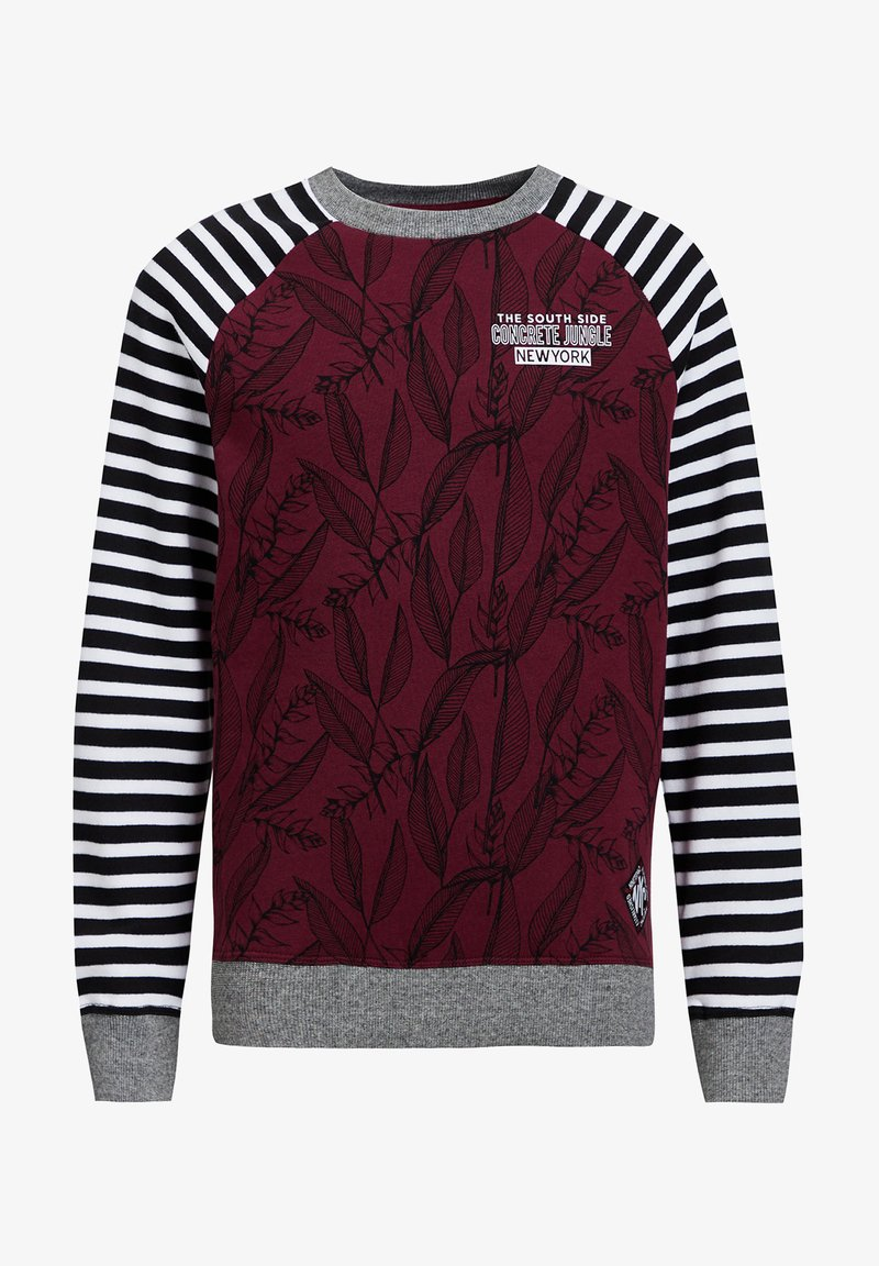 WE Fashion - Long sleeved top - burgundy red
