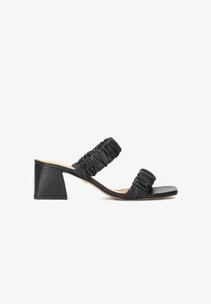 MISHA  - Heeled mules - black
