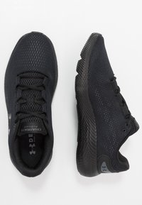 Under Armour - CHARGED PURSUIT 2 - Juoksukenkä/neutraalit - black - 1
