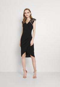 WAL G. - SIENNA MIDI DRESS - Cocktail dress / Party dress - black - 0