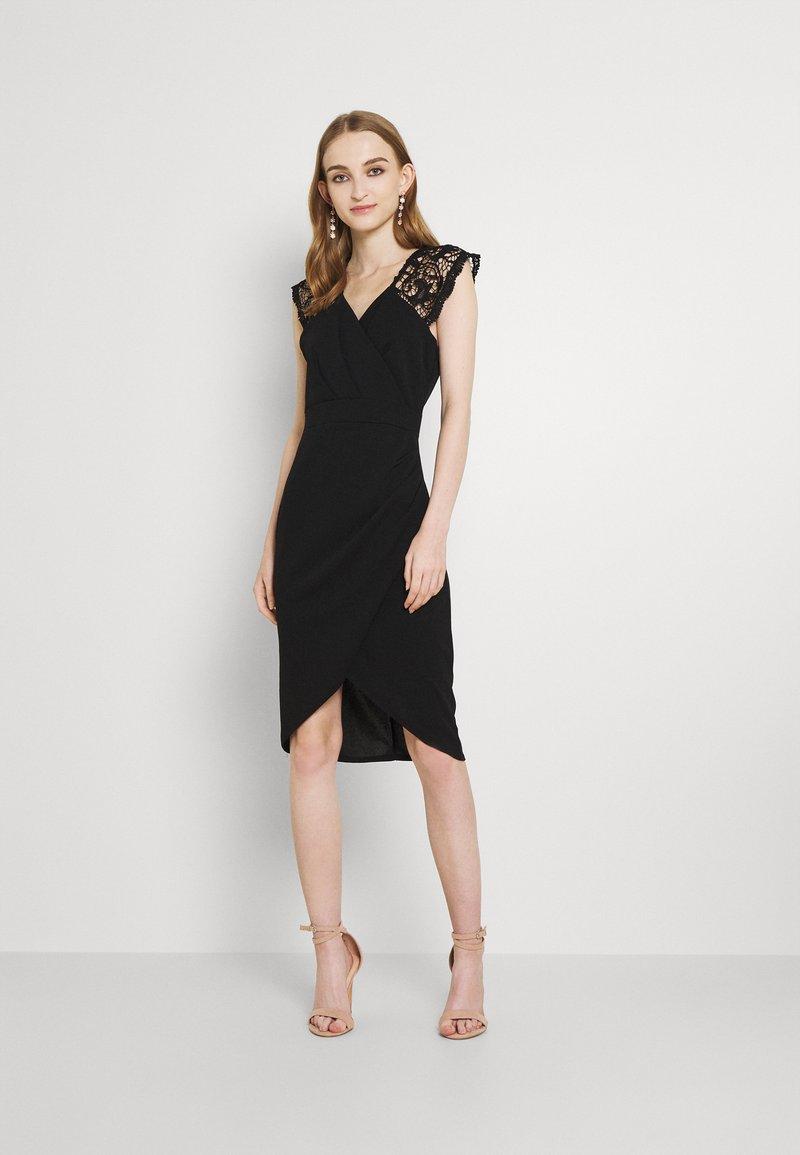 WAL G. - SIENNA MIDI DRESS - Cocktail dress / Party dress - black