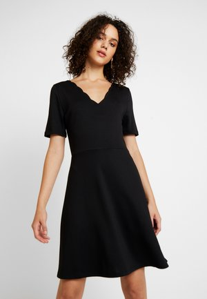 VIRYLIE DRESS - Jerseyjurk - black
