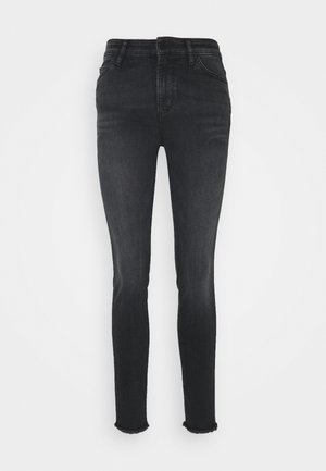 TROUSERS - Vaqueros pitillo - grey denim