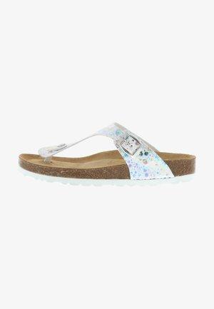 T-bar sandals - mehrfarbig