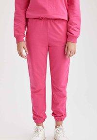 DeFacto - Tracksuit bottoms - pink - 1