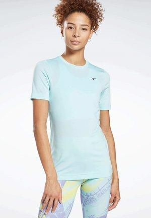 WORKOUT READY SUPREMIUM TEE - T-Shirt basic - blue