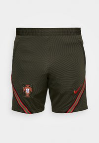 PORTUGAL FPF DRY SHORT - Sports shorts - sequoia/sport red/sport red