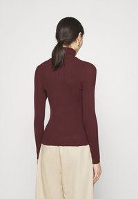 ONLY - ONLELLY ROLLNECK - Jumper - tawny port - 2