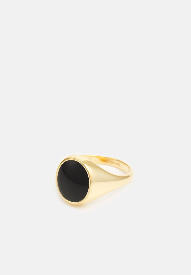 HERITAGE - Anello - gold-coloured/black