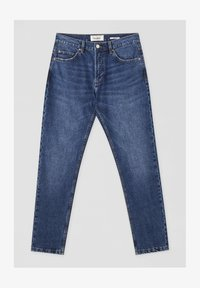 PULL&BEAR - Straight leg jeans - mottled light blue - 5