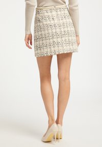 faina - TWEED - A-line skirt - champagner - 2