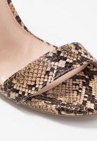 Madden Girl - WILLOOW - High heeled sandals - brown - 2