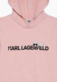 KARL LAGERFELD - Jersey dress - alt rose - 4