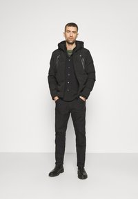 Solid - MANTO - Winter jacket - black - 1