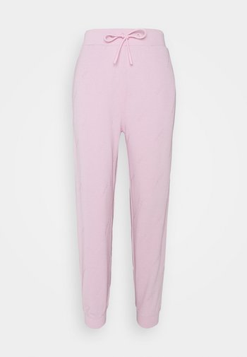 Tracksuit bottoms - washed out pink