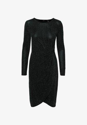 GLITZER - Sukienka koktajlowa - black