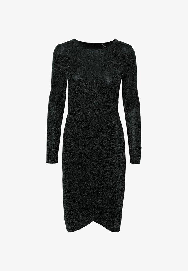 GLITZER - Cocktail dress / Party dress - black