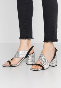 Sixtyseven - NERIT - Sandals - blanco - 0