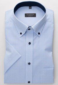 Eterna - REGULAR FIT - Shirt - light blue/white - 4