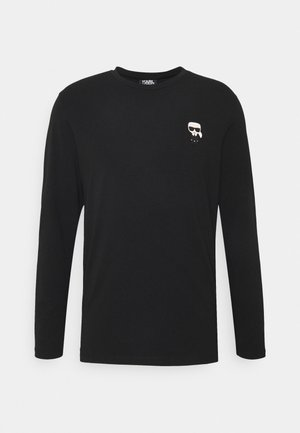 CREWNECK - Camiseta de manga larga - black