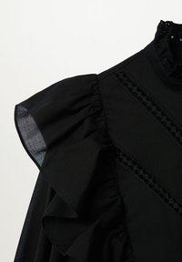 Mango - ROMA - Button-down blouse - zwart - 6