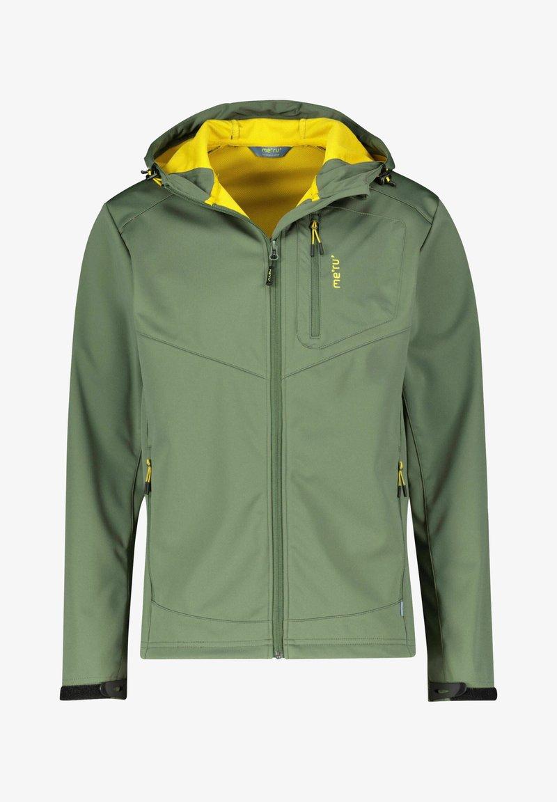 Meru - Soft shell jacket - olive