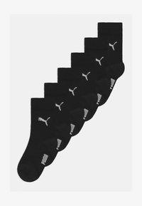 Puma - EASY RIDER 6 PACK UNISEX - Chaussettes - black - 0