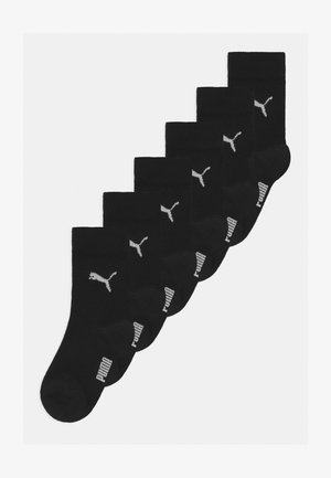 EASY RIDER 6 PACK UNISEX - Socks - black