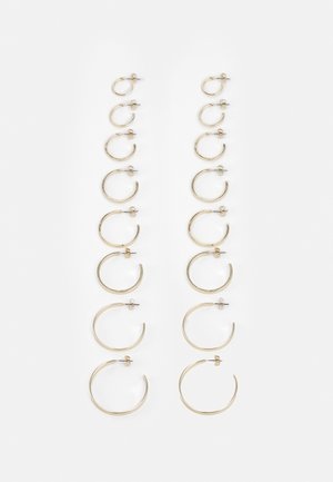 FGHOLLY EARRINGS 8 PACK - Øredobber - gold colour