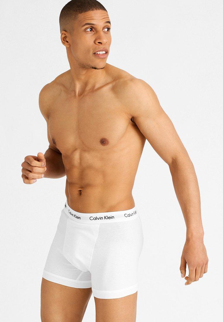 Calvin Klein Underwear - TRUNK 3 PACK - Culotte - black/white/grey