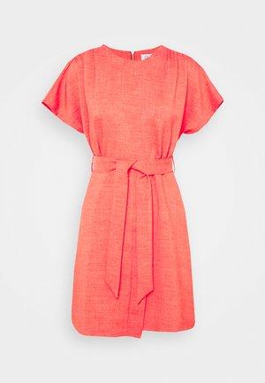 WRAP SKIRT MINI DRESS - Denní šaty - orange
