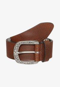 TOM TAILOR - Belt business - brown - 1