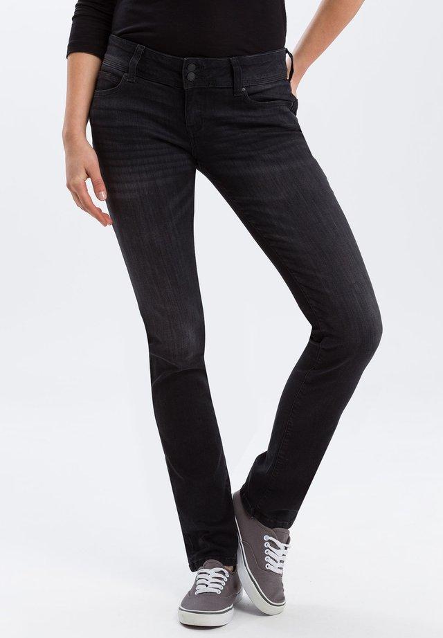 LOIE - Straight leg jeans - black-used