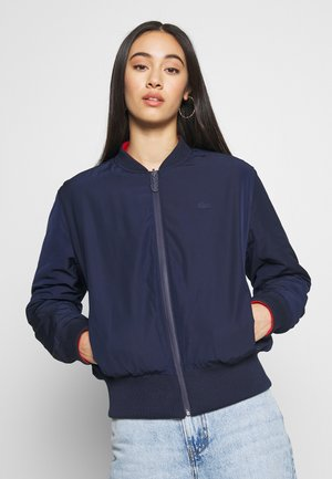 Bomber Jacket - navy blue/corrida