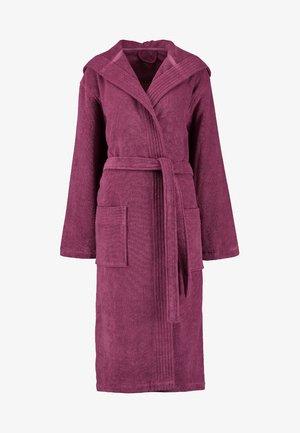 VEGAN LIFE - Dressing gown - blackberry