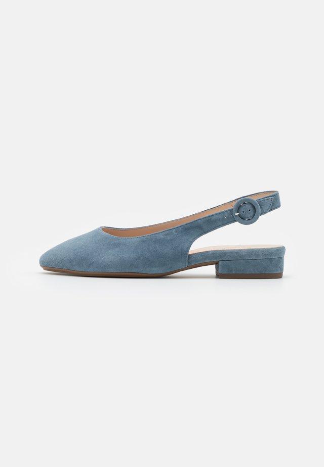FASELLE - Slingback ballerina´s - jeans