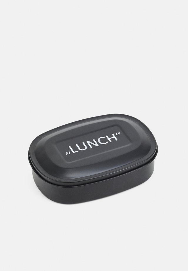 LETTERED LUNCH BOX - Altri accessori - black