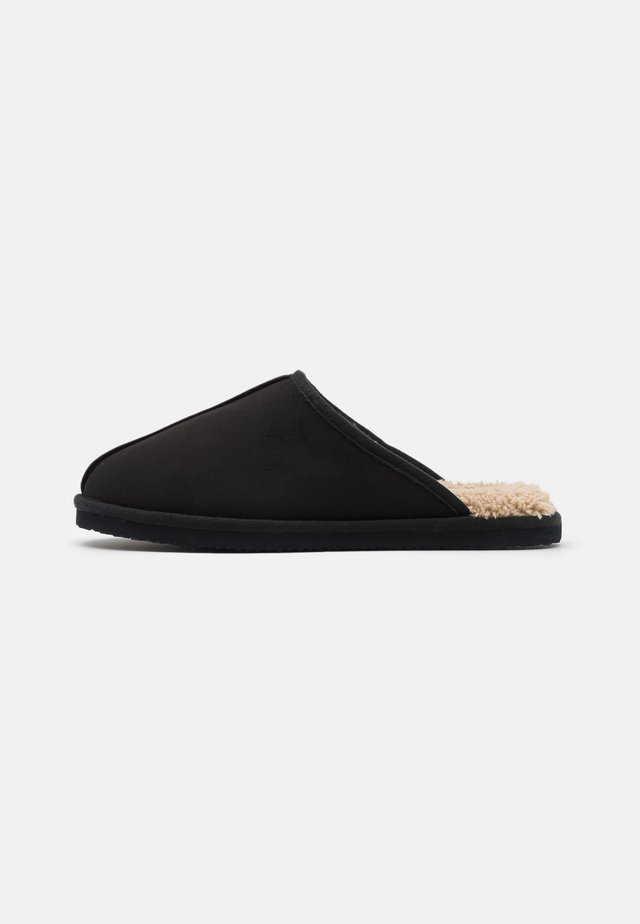 JFWDUDELY  - Slippers - black/beige
