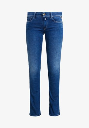 LUZ - Bootcut jeans - medium blue