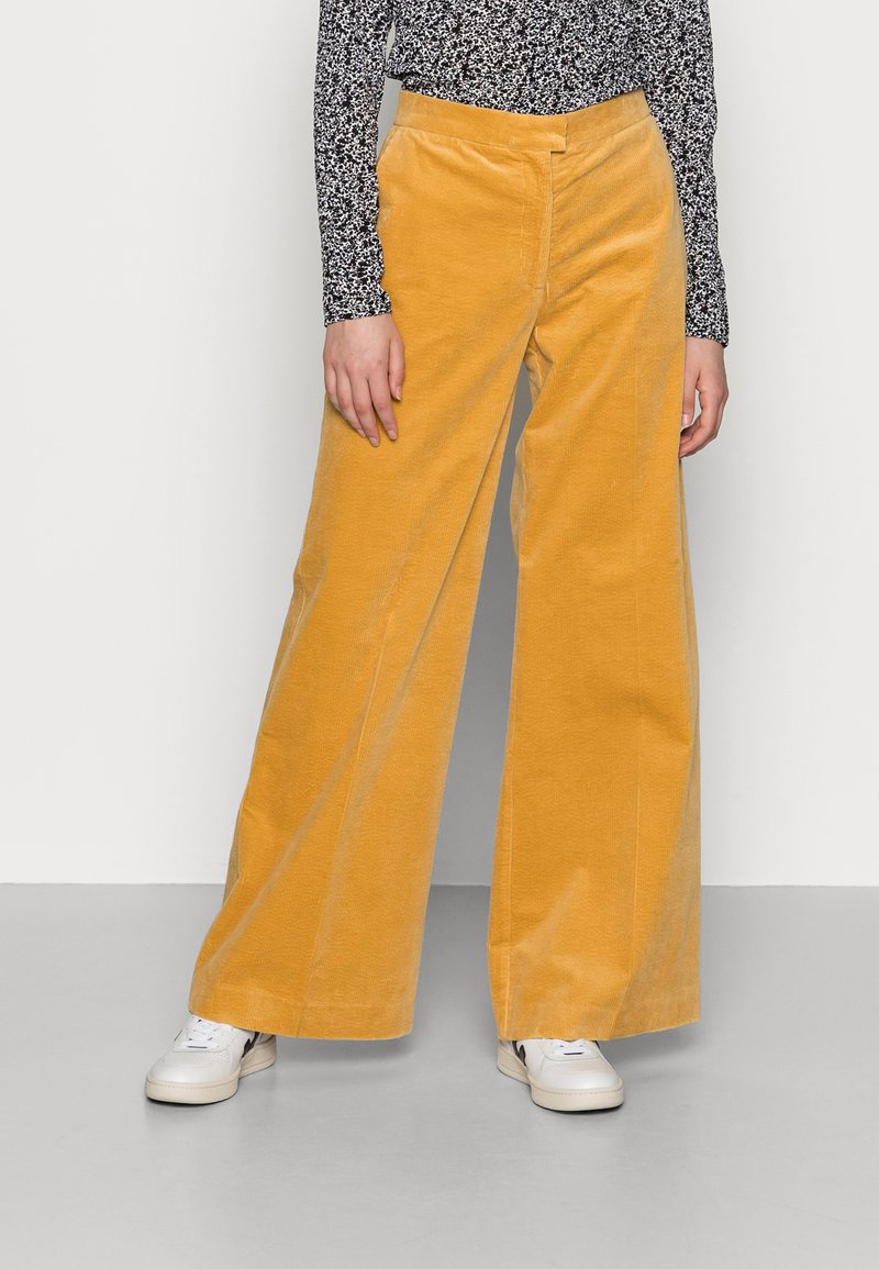 Samsøe Samsøe - COLLOT TROUSERS - Pantalones - ochre