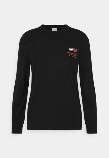 NEW YORK TEE - Long sleeved top - black