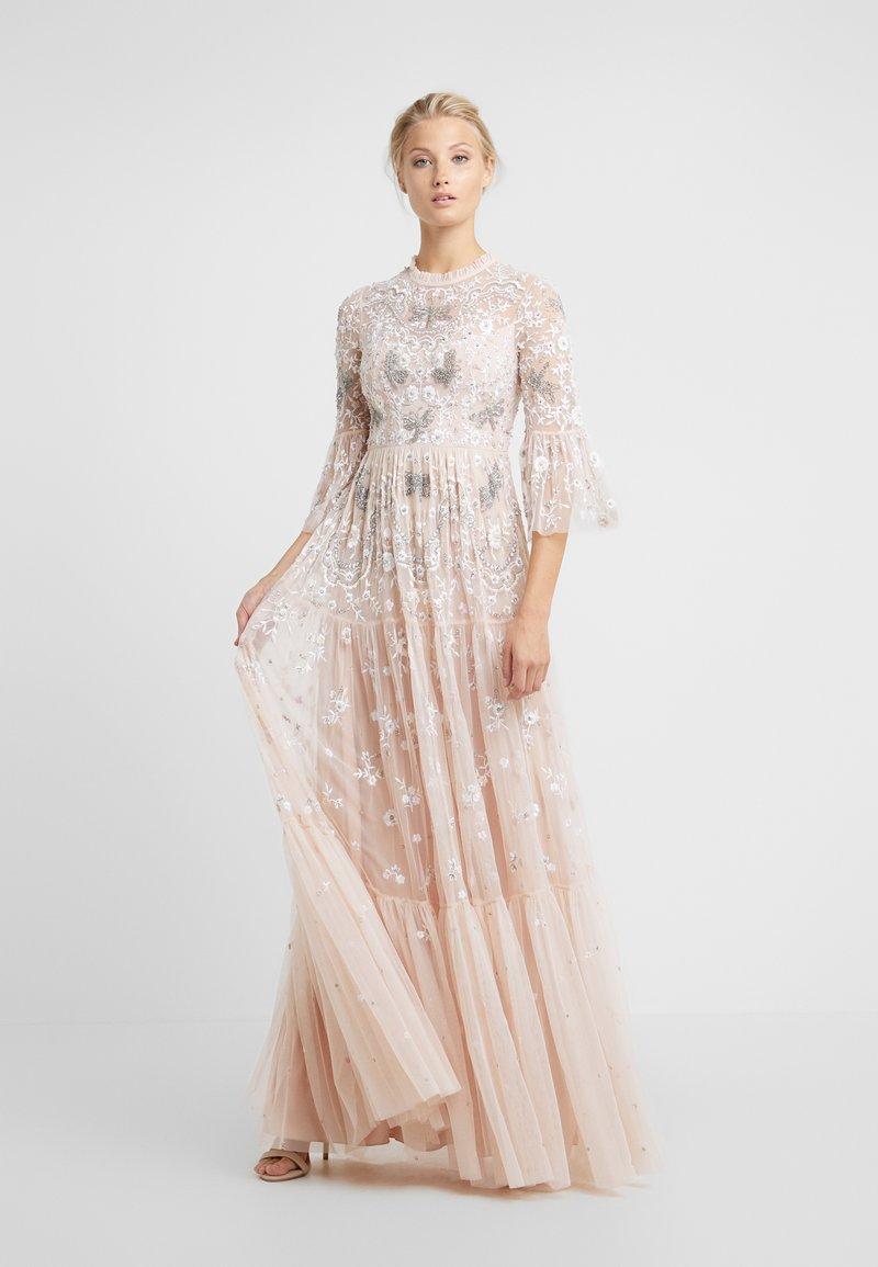 Needle & Thread - DRAGONFLY GARDEN MAXI DRESS - Robe de cocktail - rose quartz