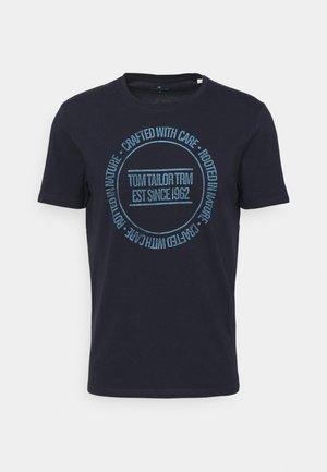 PRINTED - T-shirt print - sky captain blue