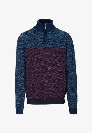 TROYER  - Fleece jumper - blue navy