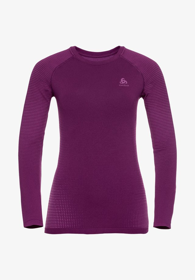 CREW NECK PERFORMANCE WARM - Sports shirt - violett (322)