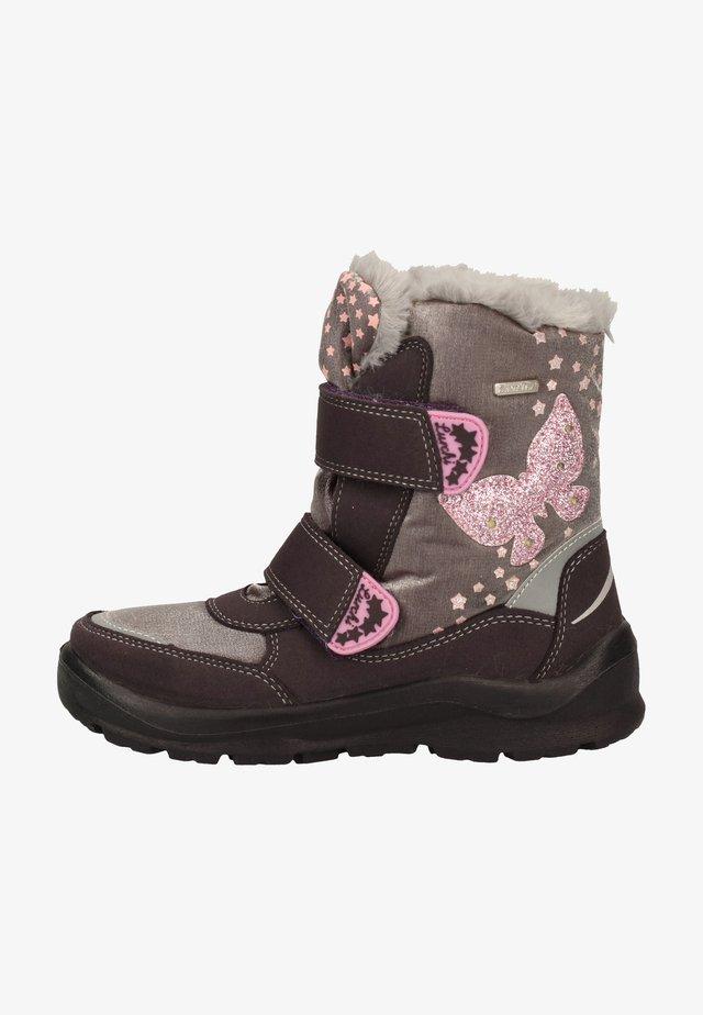 Winter boots - aubergine
