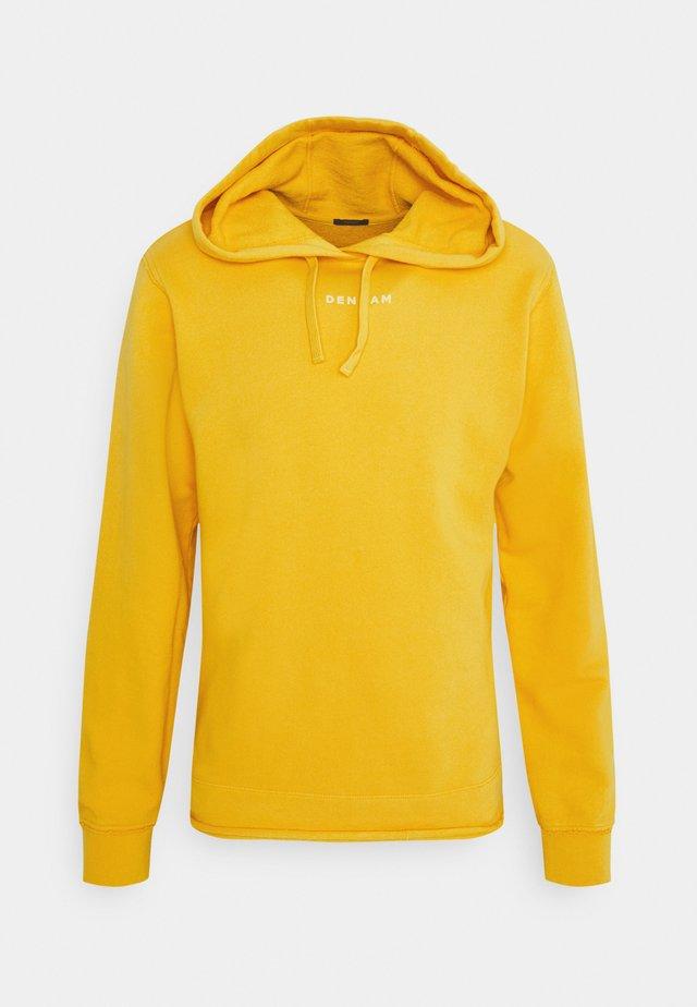 UNION SLIM HOODY UNISEX - Mikina - cream gold yellow