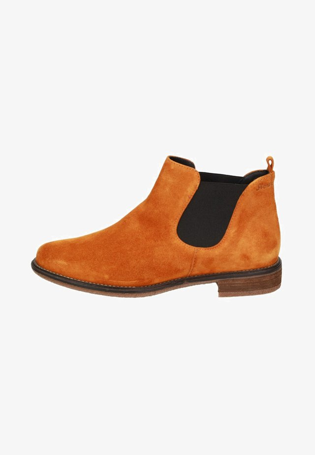HORATIA - Ankle boots - yellow