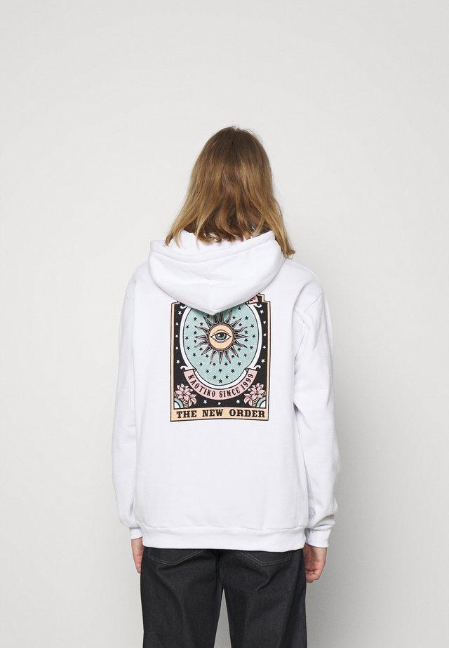SUD CAP NEW ORDER - Hoodie - white